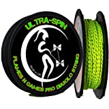 """ULTRA-SPIN"" Pro Diabolo String UV Yellow / 10m reel of Diablo String for ANY type of Diabolos Handsticks."