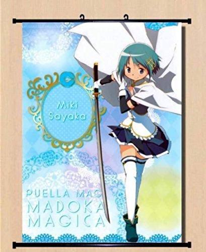 HOME Decor Game Anime Poster Wall Scroll ~ yande 229853 miki sayaka magica sword
