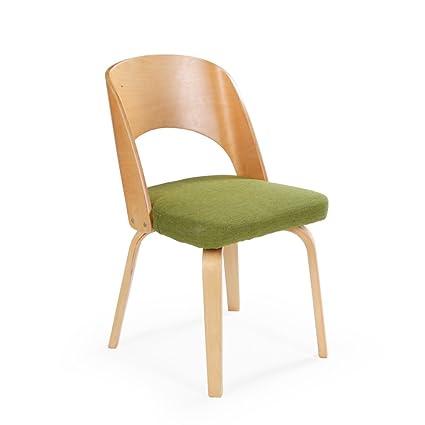 Sedia, Sedia da pranzo in legno massello per adulti Moderno Semplice ...