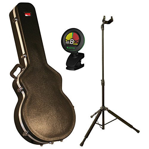 Gator GC-335 Deluxe 335 Style Electric Guitar Case w/ Stand and Tuner