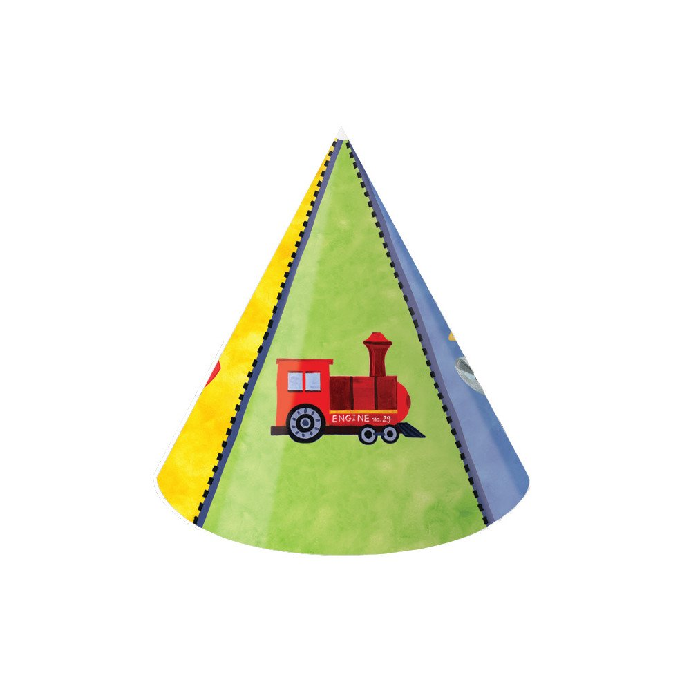 Creative Converting on The Go 8 Count Child Party Hats