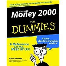 Microsoft Money 2000 For Dummies by Peter Weverka (1999-10-20)