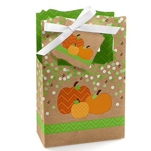 Pumpkin Patch - Fall & Thanksgiving Party Favor Boxes - Set of 12 ()