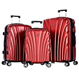 Best OLYMPIA Travel Luggage Sets - Olympia Luggage Vortex 3 Piece Hardcase Spinner Set Review