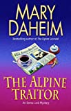 Front cover for the book The Alpine Traitor by Mary Daheim