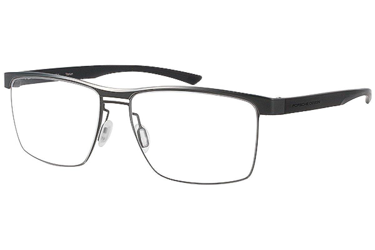 400bafbeb9f2 Amazon.com  PORSCHE DESIGN P 8289 Eyeglasses Dark Gun D  Clothing