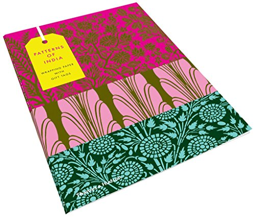 Patterns of India: 10 Sheets of Wrapping Paper with 12 Gift Tags (Thames & Hudson Gift)