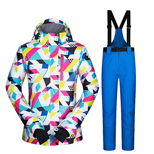 Coupe Femme Double 5 En Chaud Ski Air Imperméable Leit Épais vent Costume Vêtements De Plein Pantalon Simple QrdsChtxB