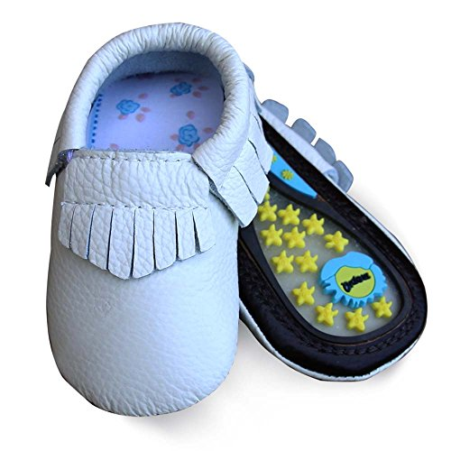 Walker Love (Lucky Love Baby Hard Sole Toddler Moccasins Shoes Size 12-18 Months)