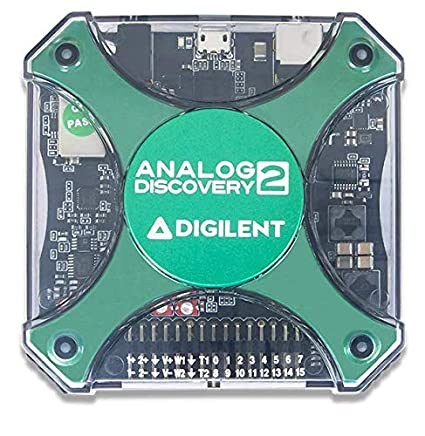 Digilent Analog Discovery 2 100MSPS USB Oscilloscope, Logic Analyzer and  Variable Power Supply - 410-321