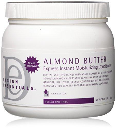 Design Essentials Almond Butter Express Instant Moisturizing Conditioner, 32 Ounce