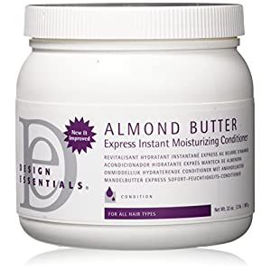 Design Essentials Almond Butter Express Instant Moisturizing Conditioner, Best Value- 32 Ounce