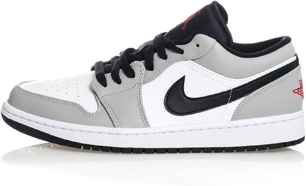Amazon.com | Nike Air Jordan 1 Low Light Smoke Grey | Basketball