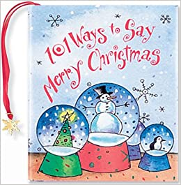 101 ways to say merry christmas mini book christmas holiday charming petites virginia unser 9780880883955 amazoncom books