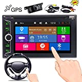 Wireless Rear Camera + EinCar Double Din Car DVD Player in Dash GPS Navigation 2 Din Autoradio Bluetooth FM/AM Radio Tuner Car Deck Audio Video System Automotive Stereo Head Unit Aux USB SD Win 8 Review