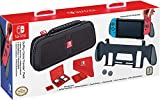 Goplay Game Traveler Pack, Premium Hard Case Made With Ballistic Nylon, Bonus: Two Multi-Game Cases, Cloth & Thumb Covers, Black - Nintendo Switch