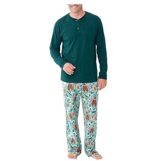 Familia Conjunto De Pijama Primavera Otoño Impresión ...