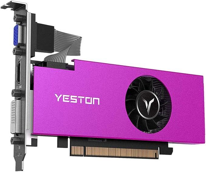 Yeston Radeon Rx550 Gaming Graphics Cards 2gb 4gb Memory Gddr5 128bit 6000mhz Vga Hd Dvi D Gpu 4gb Ram Computers Accessories Amazon Com
