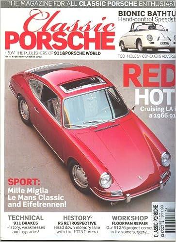 Amazon.com: Classic Porsche (September/October 2012,1966 ...