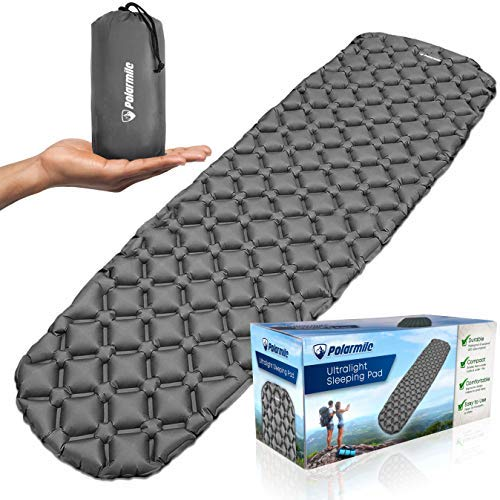 Polarmile Ultralight Sleeping Pad - Durable, Inflatable & Ultra-Compact - Best Sleeping Pads for...