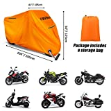 Favoto Motorcycle Cover Waterproof Outdoor, Safe