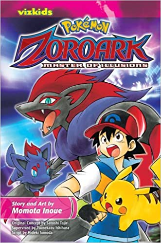 Amazon Com Pokemon The Movie Zoroark Master Of Illusions 1 Pokemon 9781421542218 Momota Inoue Hideki
