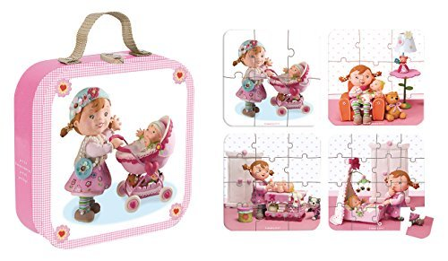 Janod Lilou Plays with Dolls Puzzle by