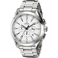 OMEGA Aqua Terra Silver Dial Chronograph Automatic Men's Watch