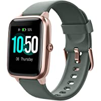 YAMAY Smart Watch Fitness Tracker Watches for Men Women, Fitness Watch Heart Rate Monitor IP68 Waterproof Digital Watch…