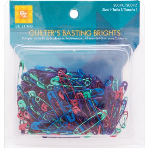 Simplicity Metal Safety Pins to Baste Quilts, 200pc