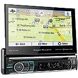 Power Acoustik 1DIN 7IN GPS DVD RCVR