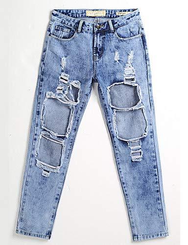 Blue Pantaloni In Donna Slim Yfltz Jeans Da Unita Tinta pZw7q7T8dP