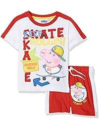 George Skating Short Sleeve Pyjama Set - Spring Summer Collection