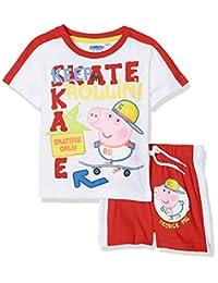 Peppa Pig George Skating Short Sleeve Pyjama Set - Spring Summer Collection