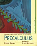 Precalculus : A Problem Oriented Approach, Cohen, 0314203850