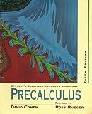 Precalculus : A Problem Oriented Approach, Cohen, 0314203850