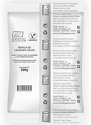 Nuteco Semilla de Calabaza BIO - 4 Paquetes de 280 gr - Total: 1120 gr
