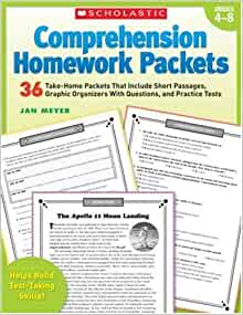 Comprehension homework packets 2007 by jan meyer scholastic teaching resources business plan template for sales manager