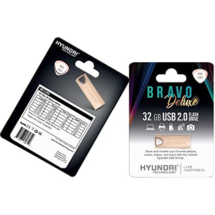 977e892797c451 Image Unavailable. Image not available for. Color: Hyundai Technologies  U2BK/32GARG 32GB Bravo Deluxe USB 2.0 Flash Drive ...