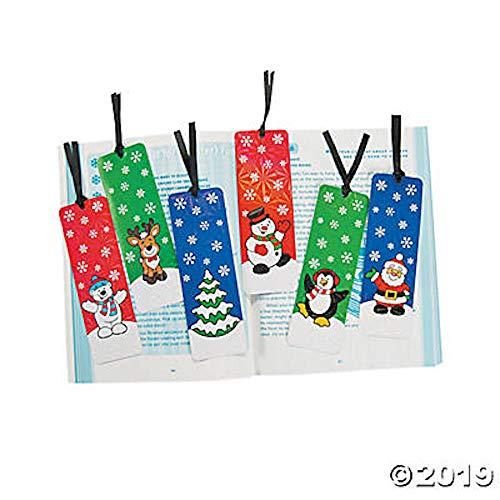 Fun Express Holiday Bookmarks Activity (2 Dozen) - Bulk ()