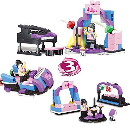 Marian Building Set for Kids - Building Blocks toddler Toy, 3 Transformation(97PCS)