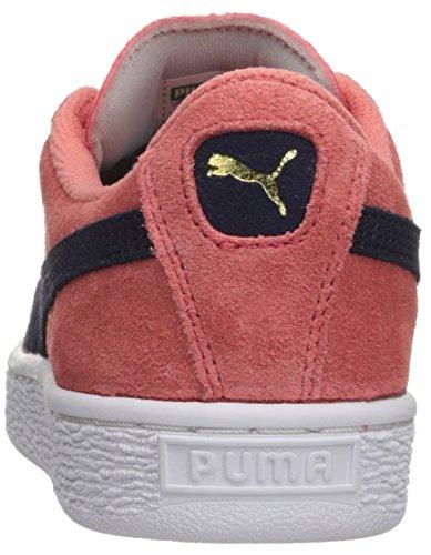 Sneaker Puma Suede Jr Classic Kids (bimbo / Bimbo Grande) Rosa / Peacoat Porcellana