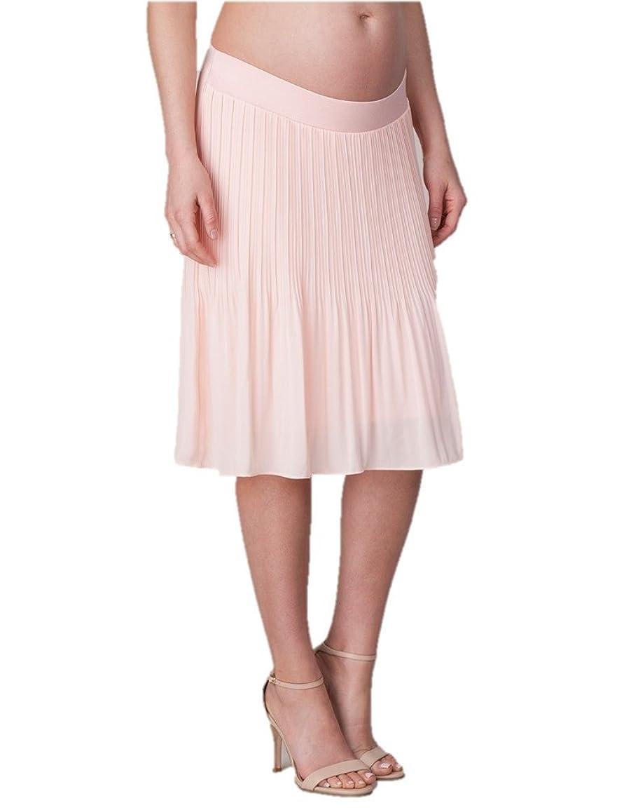 好むアブセイモーターSeraphine セラフィン マタニティスカート Collette コットンマキシ丈マタニティスカート イギリスサイズ14 ホワイト