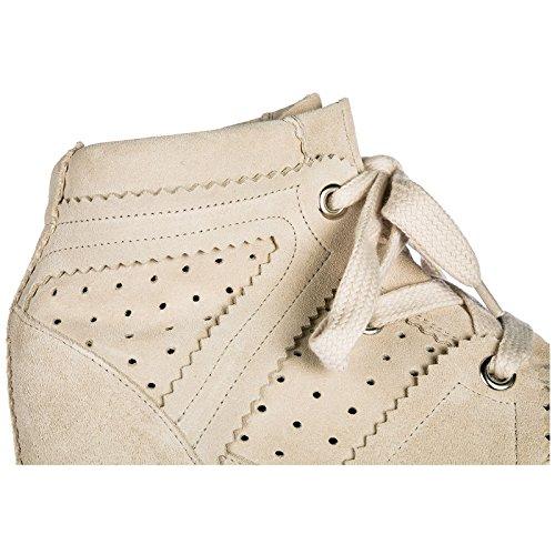 Isabel Marant Femme Chaussures Bobby Daim Sneakers Hautes en Baskets Rose FqrZSWfq