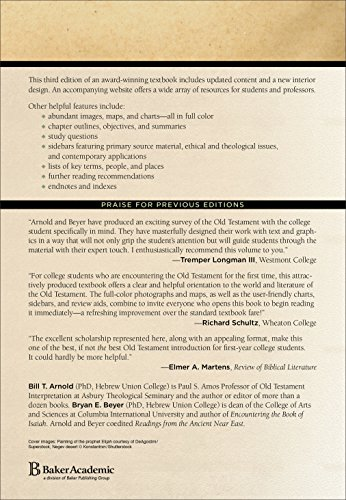 encountering the old testament Start studying encountering the old testament, chapter 25 learn vocabulary, terms, and more with flashcards, games, and other study tools.