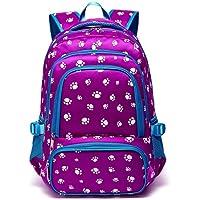 Kids Backpack for Girls Boys School Bag Bookbags (Purple)