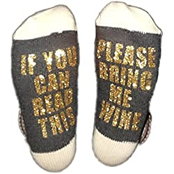 Best Gift Christmas socks Baby Avengers LuLu Christmas Gift for Lover Mom and Father IF You Can Read This Funny cotton Socks