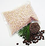 HOLIDAY PROMOTION! PREMIUM ORGANIC PINE NUTS – 1 Pound. MADE IN RUSSIA, Wild Harvested, Raw, NO Preservatives, Authentic and 100% Natural. Best Quality in a Market. Stored in Refrigerator. For Sale