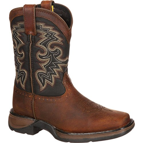 Durango Baby DWBT049 Western Boot, tan Black, 10 M US ()
