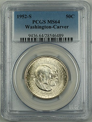 1952 S Washington Carver Half Dollar PCGS MS-64 ()